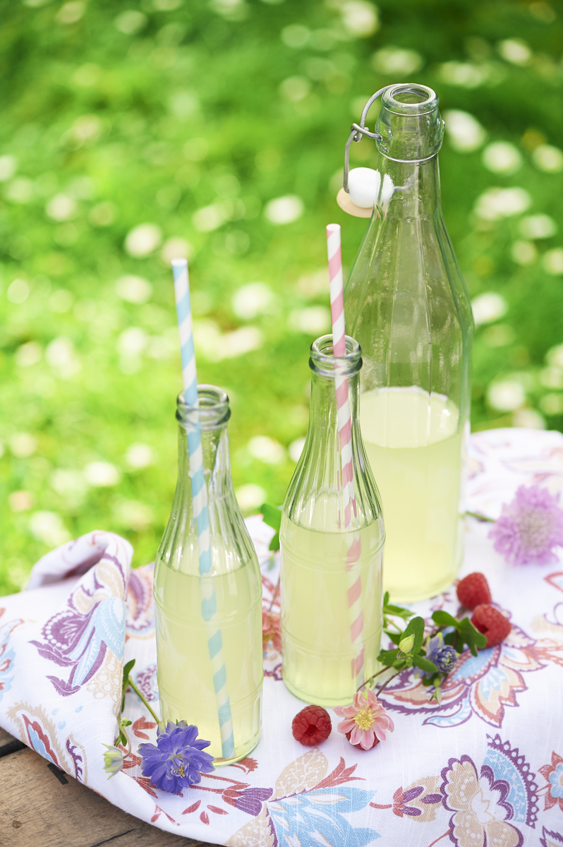 Fresh lemonade for Vegan Living Magazine